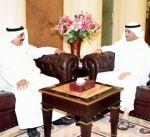الغانم يستقبل سفير الكويت لدى أذربيجان والسفير الكوبي