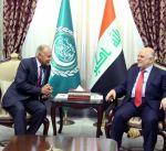 أمين الجامعة العربية يؤكد الحرص على وحدة الأراضي العراقية