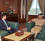 وكيل وزارة الداخلية يبحث مع السفير الصيني التعاون المشترك