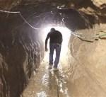 الداخلية الفلسطينية بغزة تعلن اختفاء ثلاثة اشخاص داخل نفق على حدود القطاع