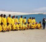 فريق الغوص : نجاح الحملة الثانية لتنظيف شاطئ الخيران
