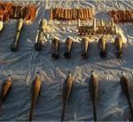 """مصر: ضبط مخزن اسلحة وذخائر ثقيلة لعناصر """"تكفيرية"""" وسط سيناء"""