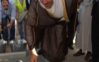 رئيس الطيران المدني يضع حجر الأساس للمدرج الثالث وبرج المراقبة الجديد