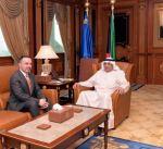 وزير الداخلية يبحث مع سفراء فرنسا والعراق وأذربيجان التعاون المشترك
