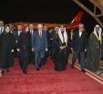 رئيس البرلمان التركي يصل إلى البلاد في زيارة رسمية