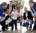رونالدو يواصل دعمه لمستشفيات الأطفال