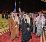 وزير الداخلية السعودي يصل الى الكويت