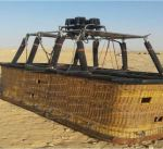 مصرع أمريكي وإصابة آخرين في حادث سقوط منطاد جنوبي مصر