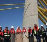 """""""الاشغال"""": انجاز 90 % من وصلة الصبية بمشروع جسر جابر"""