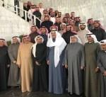 """الشيخ سلمان الحمود في حفل تكريم فريق """"الصقور السعودية"""": أظهرتم مدى الاحترافية العالية في سماء الكويت"""