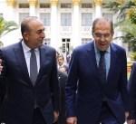 وزيرا خارجية روسيا وتركيا يبحثان مؤتمر السلام السوري في سوتشي