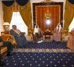 رئيس الوزراء البحريني يستقبل النائب الأول لرئيس الوزراء وزير الدفاع الكويتي