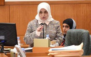 الوزيرة الصبيح: ملتزمون بتطبيق أحكام الدستور للحفاظ على الحقوق وصون المال العام