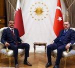 الرئيس التركي وامير قطر يبحثان العلاقات الثنائية وقضايا اقليمية