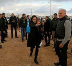 انجلينا جولي تتفقد مخيم الزعتري.. وتدعو مجلس الأمن إلى التحرك