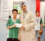 عبدالنبي كرم لاعبي المبارزة في النادي العربي