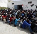 ليبيا: ضبط مجموعة من المهاجرين قرب البيضاء