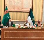 الكويت وجمهورية تركمانستان توقعان عددا من الاتفاقيات