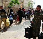 سوريا: خروج أكثر من 135 الف مدني من الغوطة الشرقية