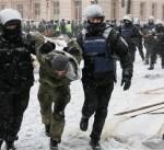 الشرطة الأوكرانية تخلي مخيم احتجاج أمام البرلمان