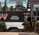 سوريا: خروج أكبر موكب للمقاتلين وعائلاتهم من الغوطة الشرقية