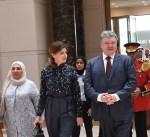 رئيس أوكرانيا يغادر البلاد بعد زيارة رسمية