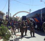 بدء خروج مسلحي الفصائل السورية المعارضة من بلدات ومدن القلمون الشرقي بريف دمشق
