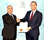 الكويت تسلم صك القبول باتفاقية تسهيل التجارة العالمية