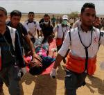 """ارتفاع حصيلة شهداء مسيرة """"العودة الكبرى"""" إلى 101 فلسطينيا بقطاع غزة"""