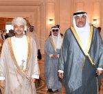 مبعوث سمو أمير البلاد يصل الى سلطنة عمان