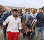 """استشهاد فلسطيني متاثرا بجروح أصيب بها خلال مشاركته بمسيرة """"العودة الكبرى"""""""