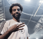 محمد صلاح يشارك ميسي في إعلان ترويجي لمونديال روسيا 2018