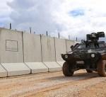 تركيا تعلن الانتهاء من بناء جدار امني على الحدود مع سوريا