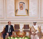 نائب الرئيس العراقي يصل الى البلاد في زيارة رسمية