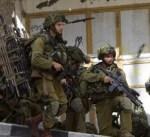 جيش الاحتلال يصيب ويعتقل عددا من الفلسطينيين قرب رام الله