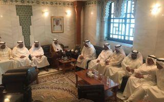 الرئيس الغانم يزور المجلس البلدي