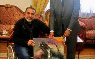 """الفنان الكويتي ناجي الحاي يفوز بجائزة التميز الإبداعي بمعرض """"قوة الفن"""" بإيطاليا"""