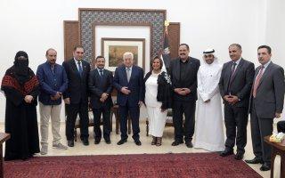 الرئيس الفلسطيني: الكويت لم تقصر يوما بحق فلسطين وشعبها