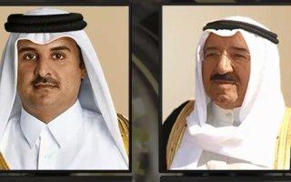 سمو الأمير يتلقى برقيتي تعزية من أمير قطر ونائبه بوفاة الشيخة فريحة الأحمد