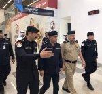 الفريق النهام يتفقد مطار الكويت في أول أيام عيد الأضحى المبارك