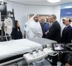وزير الصحة: جناح القسطرة بمستشفى مبارك نقلة نوعية بالرعاية الصحية