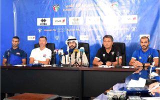 مدرب منتخب الكويت: نسعى للفوز والوقوف على مستوى لاعبينا في لقاء العراق غدا