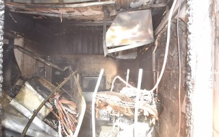 الإطفاء تعاملت مع حريق منزل في منطقة سلوى