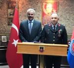 اللواء النواف يلتقي قائد الدعم اللوجستي لقوات الدرك التركية في أنقرة