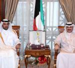 رئيس المراسم والتشريفات الأميرية يستقبل سفير دولة قطر