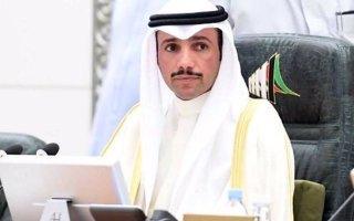 الغانم يفتتح الجلسة والأمين العام يقرأ أسماء الحضور والمعتذرين