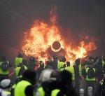 """باريس..ارتفاع عدد مصابي مظاهرات """"السترات الصفراء"""" إلى 133"""
