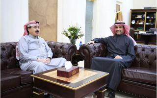 الغانم يستقبل رئيس تحرير جريدة السياسة