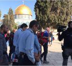 أوقاف القدس: ضباط إسرائيليون يقتحمون المسجد الأقصى