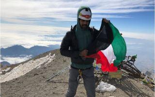 متسلق جبال كويتي يصل أعلى قمة بركانية بأمريكا الشمالية في إنجاز غير مسبوق كويتيا